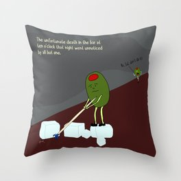 timing was everything and nothing all at once. Throw Pillow