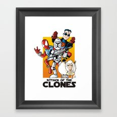 Clones Framed Art Print