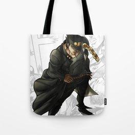 Jotaro Kujo Artwork Tote Bag