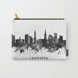 Leicester England Skyline BW Carry-All Pouch