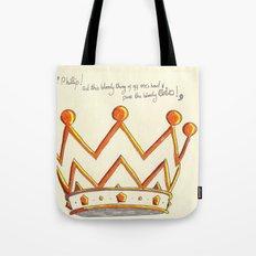 Crowns & Gin Tote Bag
