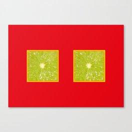 Lime Eyes – Strange Fruits Canvas Print