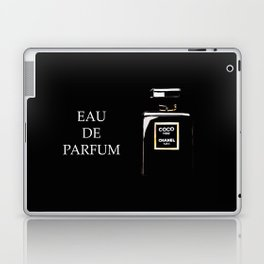 Classic Black Parfum on black Laptop & iPad Skin