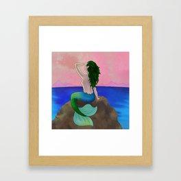 SIREN SONG Framed Art Print