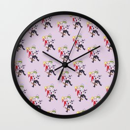 suicide squad - theme Wall Clock