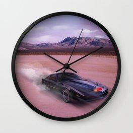 Knight Rider print Wall Clock