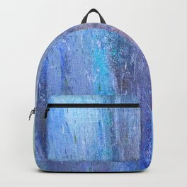 Edges of the Sky in Blues, Aquas and Green Backpack