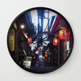 Shinjuku Eats Wall Clock