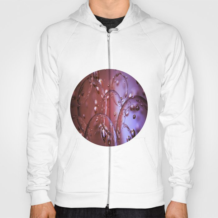 Red Glass Bubbles Hoody