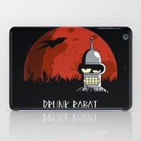drunk iPad Cases featuring Drunk Robot by Moysche Designs