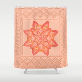 celtic tones Shower Curtain