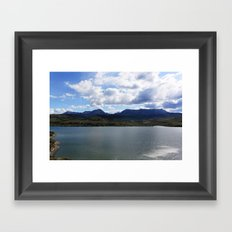 Unknown Lake Framed Art Print