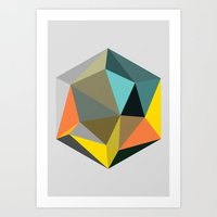 Hex series 1.1 Art Print