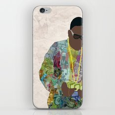 The Notorious iPhone & iPod Skin