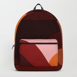 Abstraction_Mountains_SUNSET_Minimalism Backpack