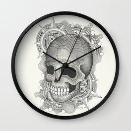 Dia De Muerto - Explosion Wall Clock