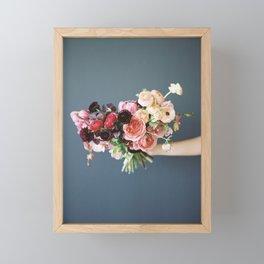 Flower Bouquet Framed Mini Art Print