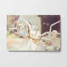 Sunny Ride Metal Print