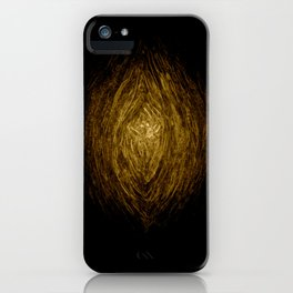 Knotty Wood Work 02 iPhone Case
