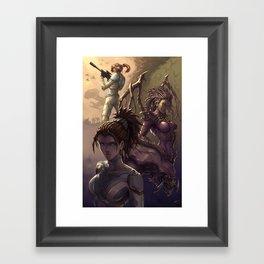 Kerrigan Framed Art Print
