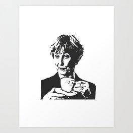 Mrs Hudson Art Print