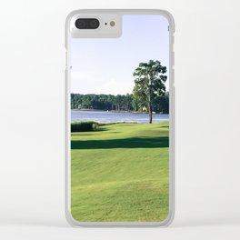 11 Fairway Clear iPhone Case