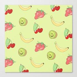 Fruit Pattern Canvas Print