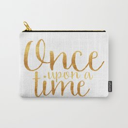 Once Upon a Time - Gold Carry-All Pouch