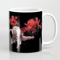 tokyo ghoul Mugs featuring Kaneki Tokyo Ghoul 5 by Prince Of Darkness