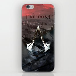 Assassin's Creed 3: Connor, Master Assassin of the American Revolutionary War iPhone Skin