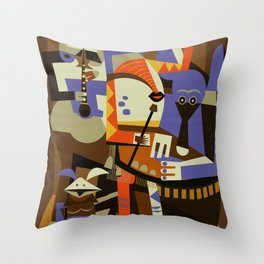 Tatooine Musicians Throw Pillow