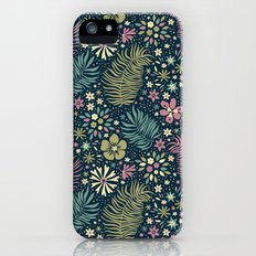 Mystical Forest (Teal and Lilac) iPhone (5, 5s) Slim Case