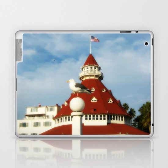 Hotel Del Coronado Laptop & iPad Skin