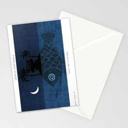 """Denpasar"" Illustration Toni Demuro Stationery Cards"