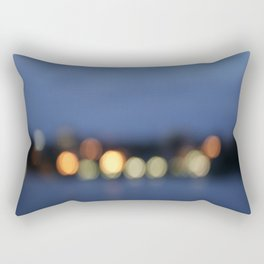 Burlington, Vermont  night lights Rectangular Pillow