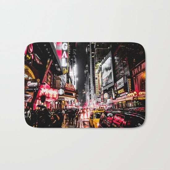 New York City Night II Bath Mat