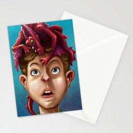 Dragon Boy Stationery Cards