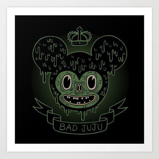 bad juju Art Print