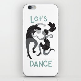 Let's dance iPhone Skin