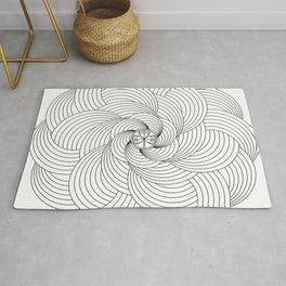 Mandala circle Rug