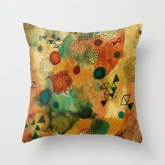 Creative Attraction Throw Pillow