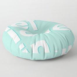 Let love in. Floor Pillow