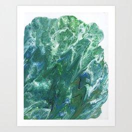 Sea Foam by Julia Duerler Art Print
