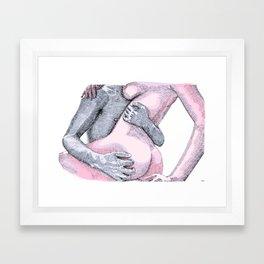 Rough Lover Framed Art Print
