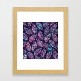 Colorful leaves II Framed Art Print
