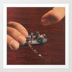 toy boat Art Print