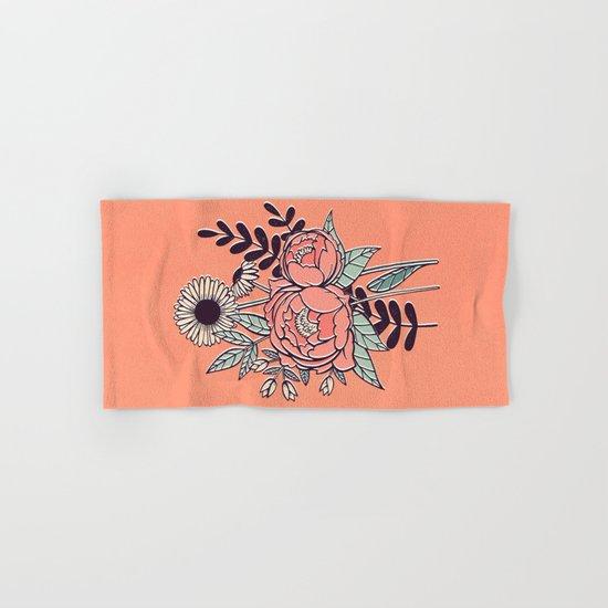 Spring Flowers Hand & Bath Towel