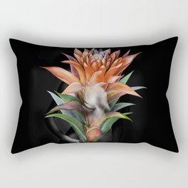 Erotic Guzmania flower Rectangular Pillow