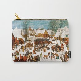 Massacre of the Innocents by Pieter Bruegel the Elder Carry-All Pouch