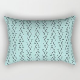 Bobbi Pins Rectangular Pillow